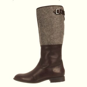 ROCKPORT LOLA RIDING STYLE LEATHER AND WOOL BOOTS SZ 7